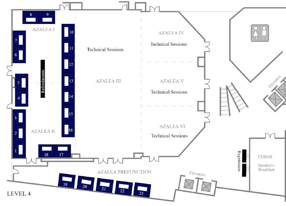 Exhibit Floor Plan 2019